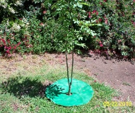 How To Make Mulch Rings/Mats