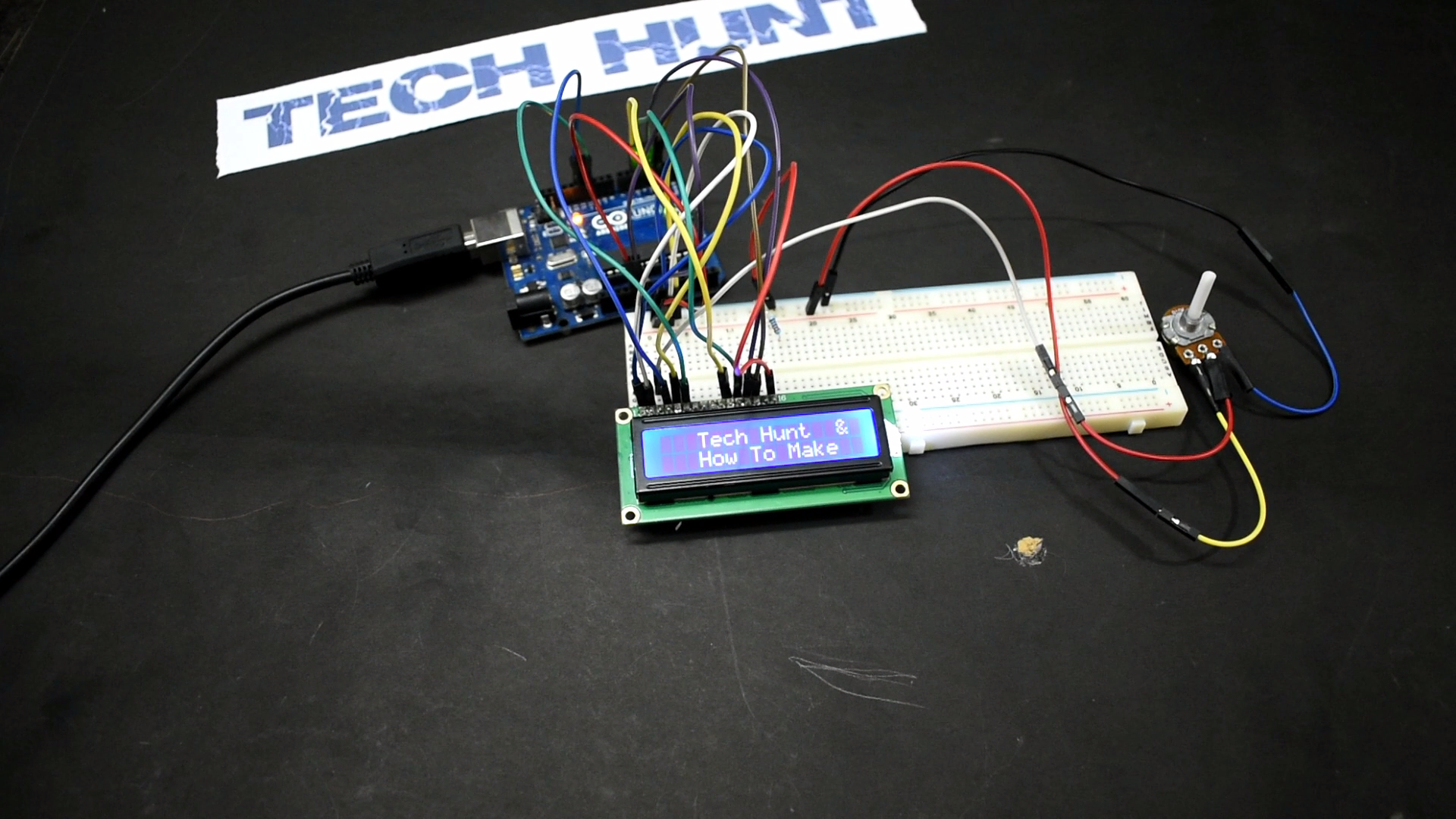 Picture of ARDUINO : HOW TO CONNECT AND CONTROL AN LCD DISPLAYS