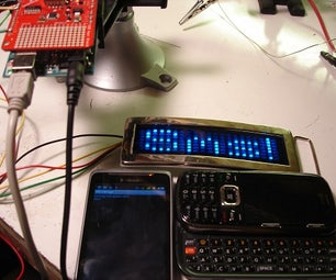 Display Live Txts on Costume at Party W/ Scrolling LED Belt Buckle