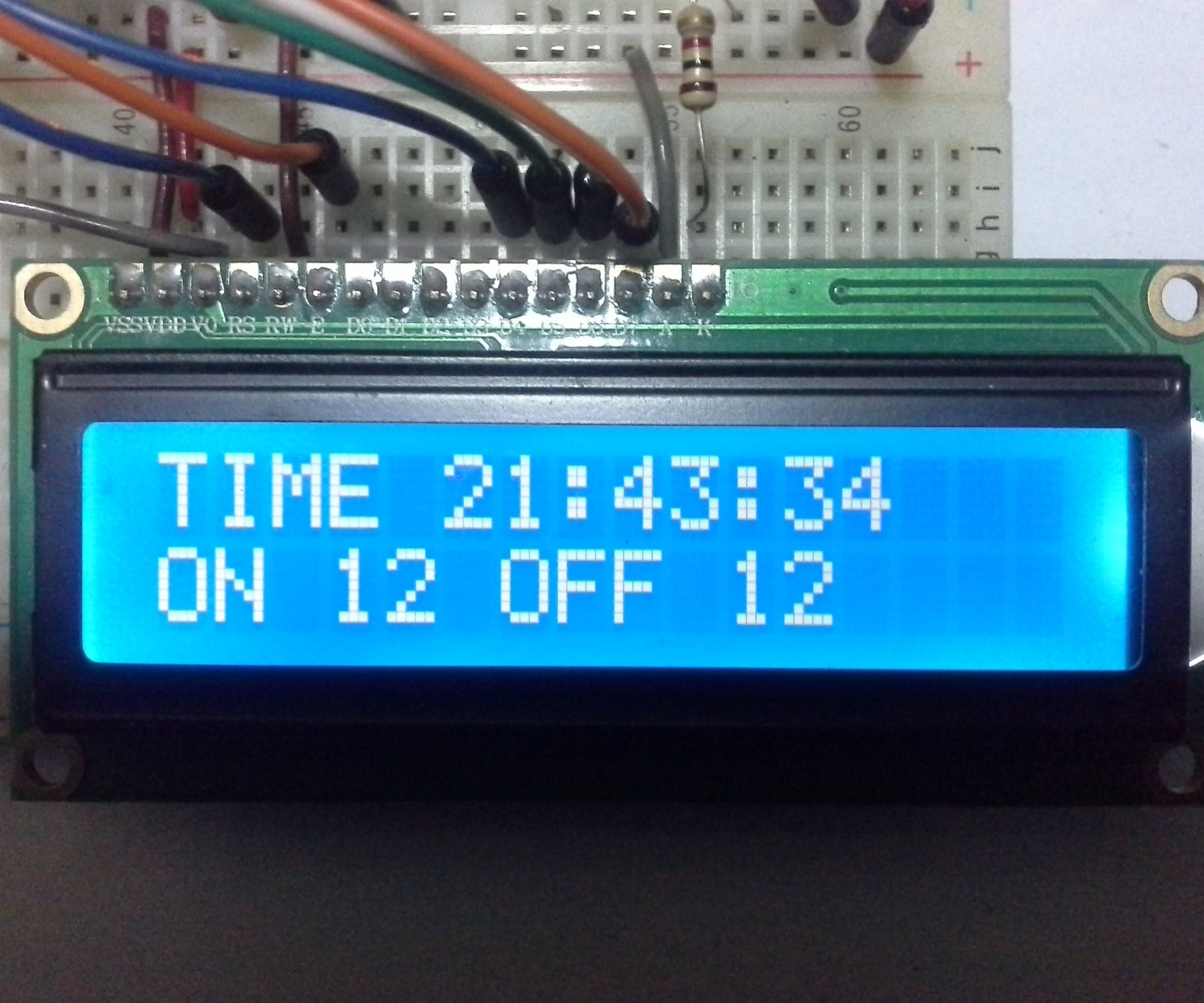 Arduino Timer With On Off Set Point 6 Steps Pictures Wiring Diagram For Delay Lights