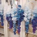 Silk Petal Wisteria/Lilac, Ombre Flower