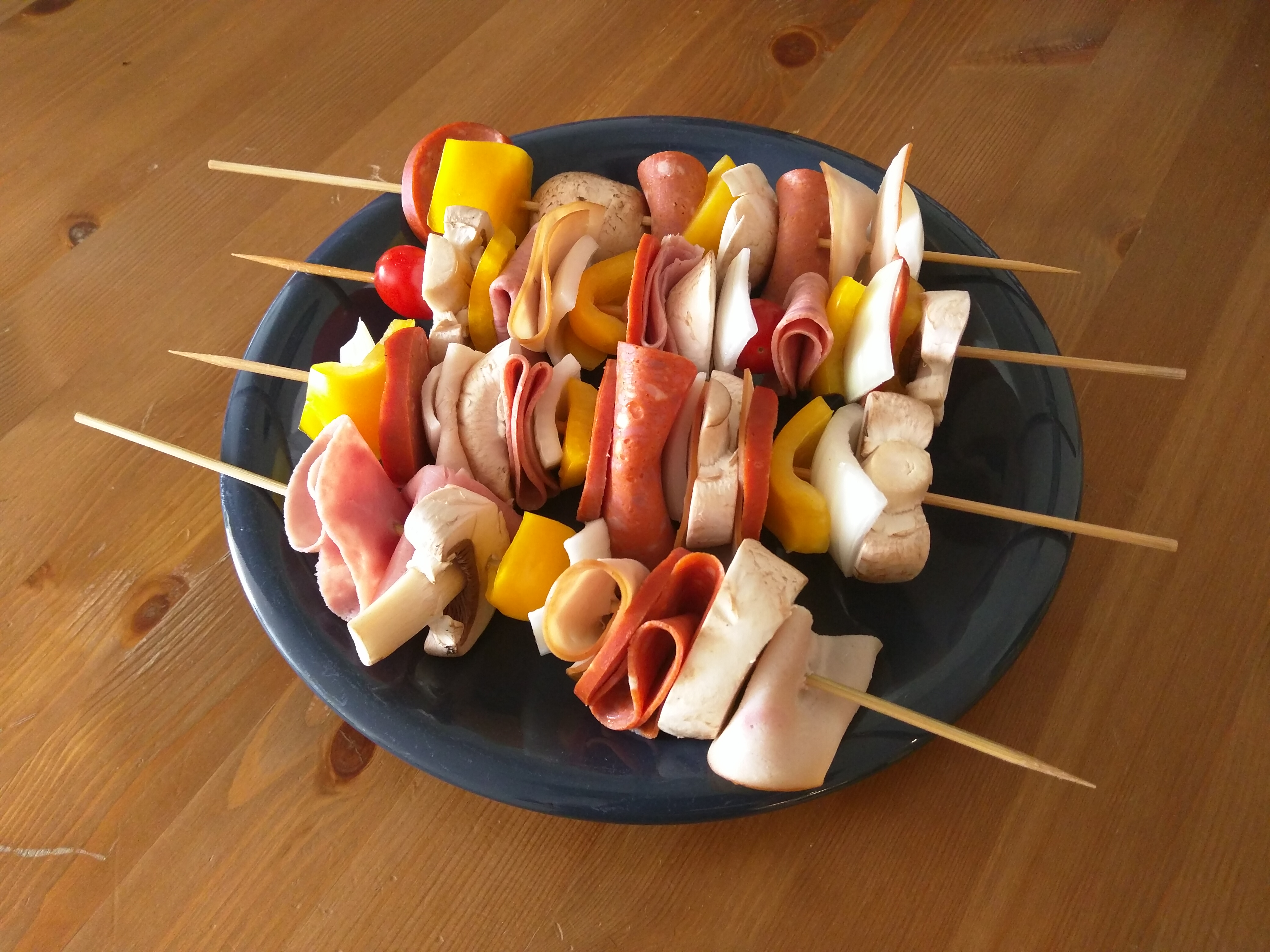Picture of Make the Skewers.