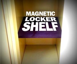Easy Magnetic Locker Shelf