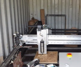 Build Big Cnc at Home 3x1.7m
