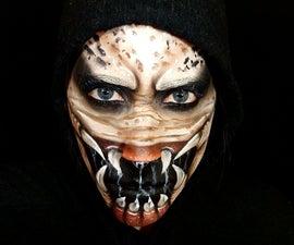 Predator Face Paint!