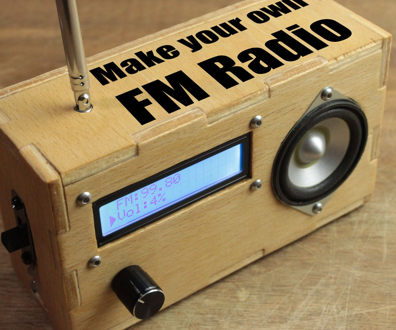 Make Your Own Fm Radio 6 Steps With Pictures Details About Create Transistor Circuit Board Kit