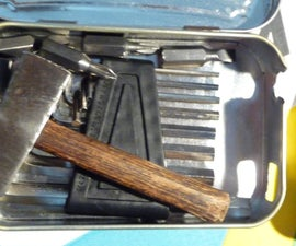 DIY Handyman's Pocket Sized Tool Box, Feat. Home Made Screwdriver
