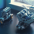 Building a Working LEGO V8 and I3 Pneumatic Engines