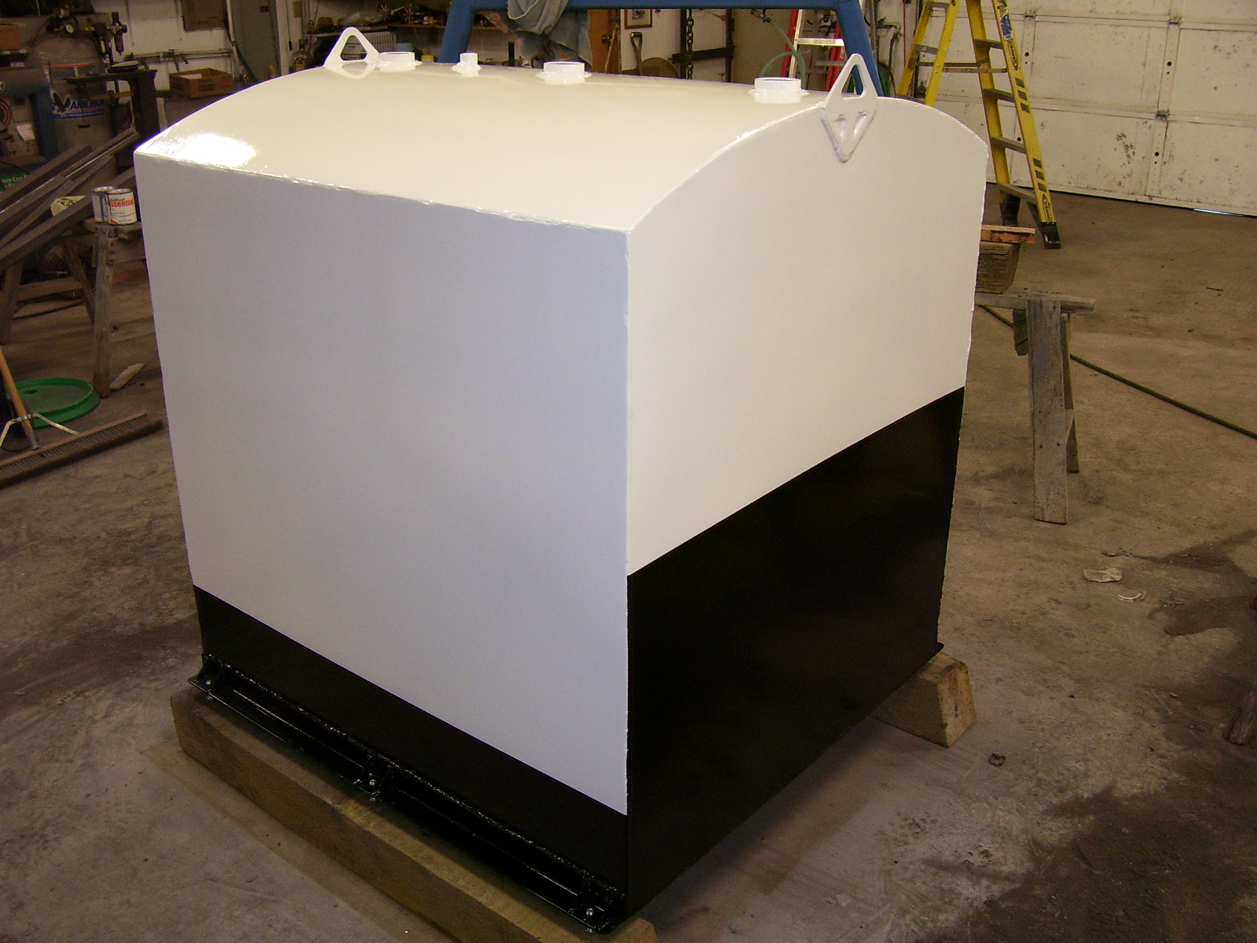 Picture of Metal Tank for Liquid Storage