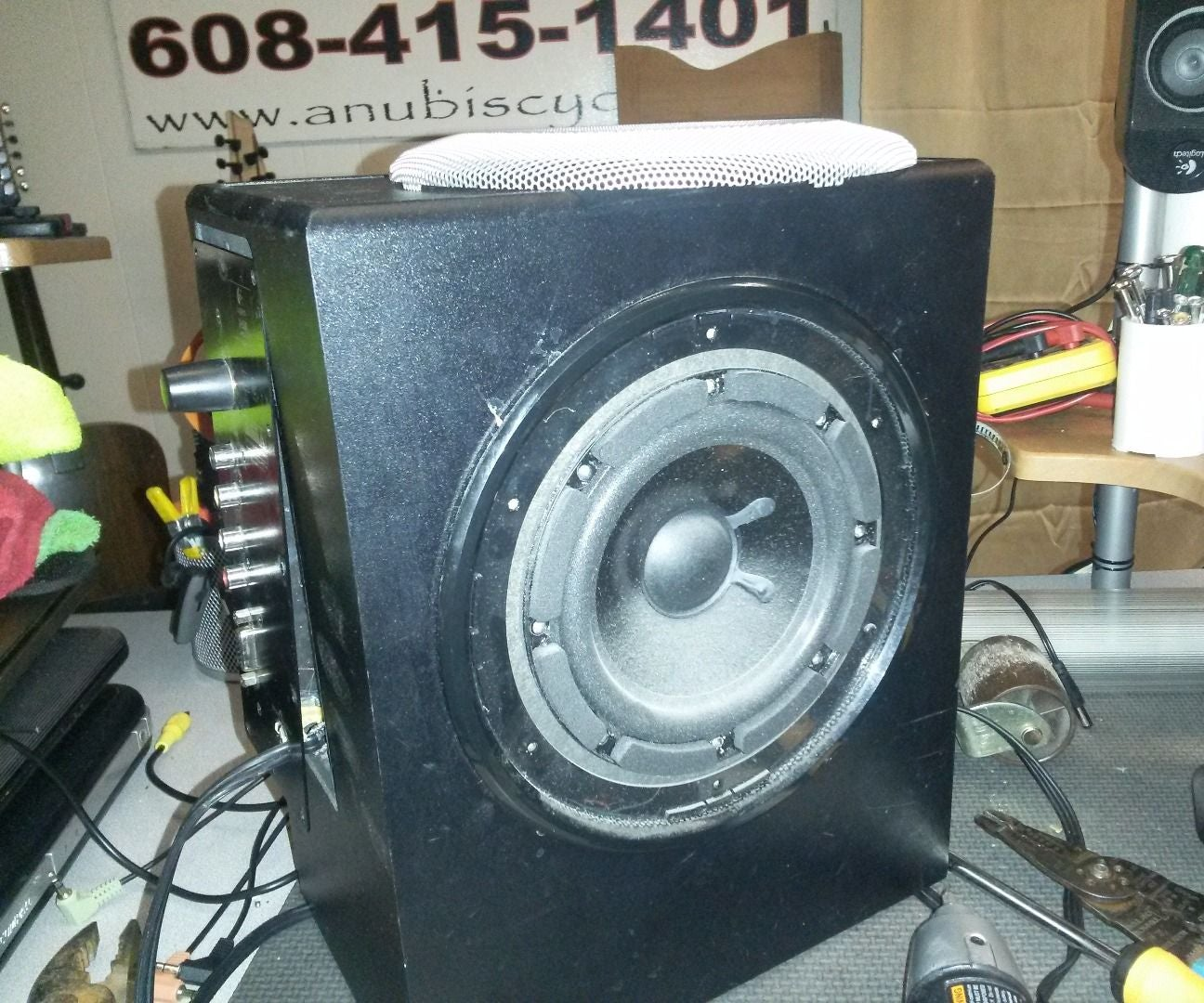 How to Fix a Dead Logitech X-530 Speaker System: 6 Steps
