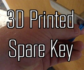 3D Print a Fully Functional Key