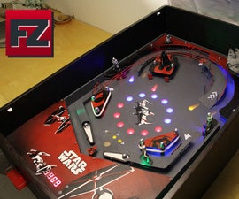 DIY Star Wars Pinball Machine