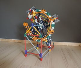 Knex Ball Machine Element: Infinity Circle