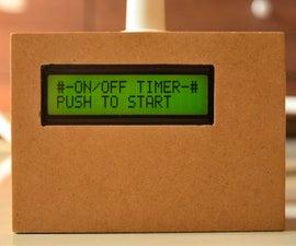 Arduino Controlled Versatile Timer/controller