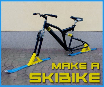How to Make a SKIBIKE   Complete Tutorial