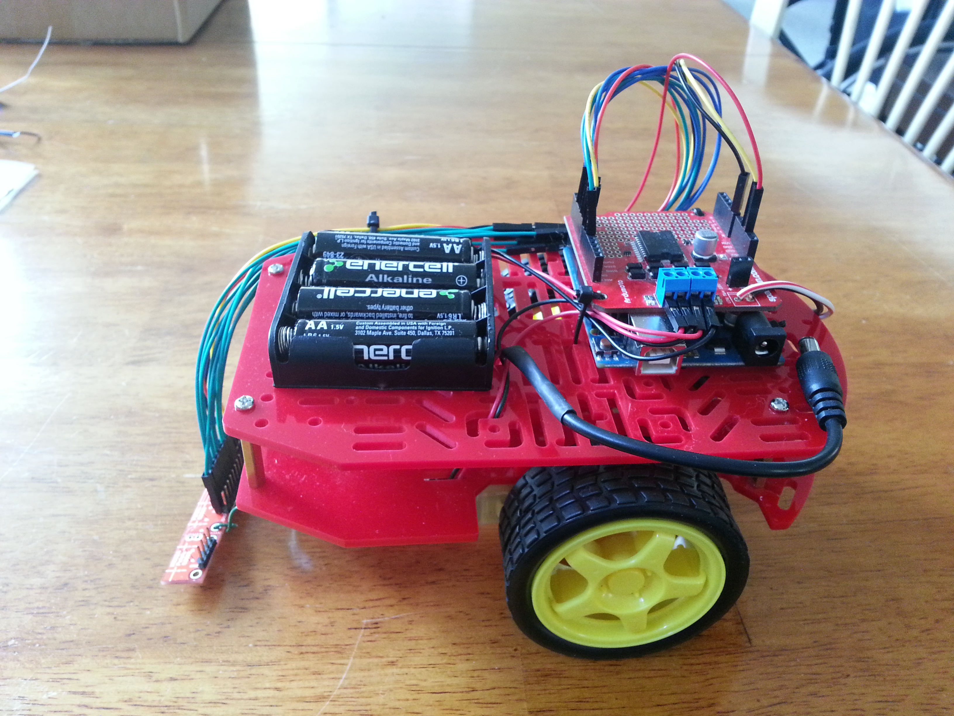 Basic Line Following Robot With Arduino: 7 Steps