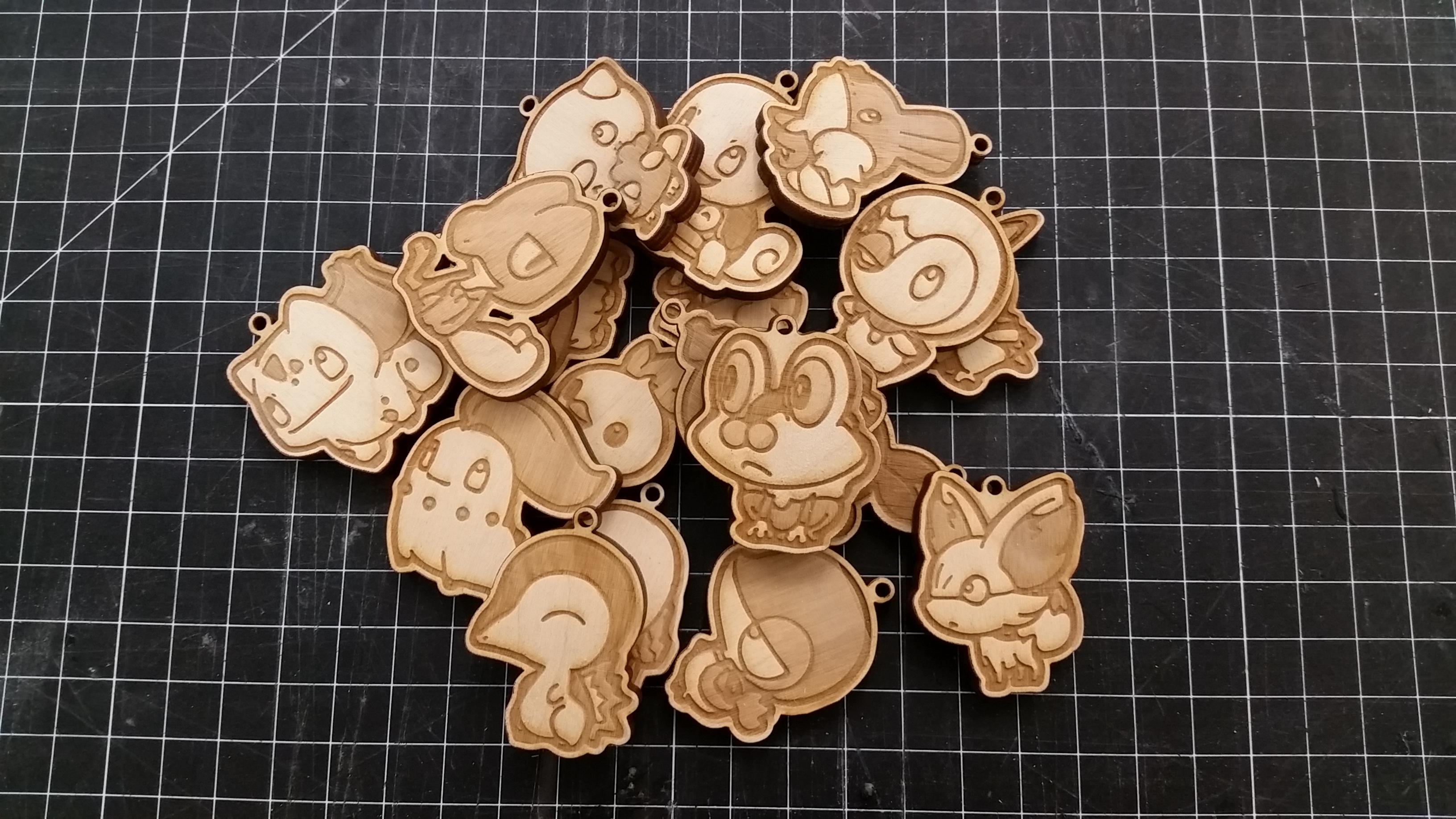 Picture of Pokemon Birch Keychains