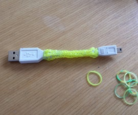 Jazz Up Your Cables (and More) With Rainbow Loom Bands