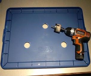 Drill Light Holder Holes