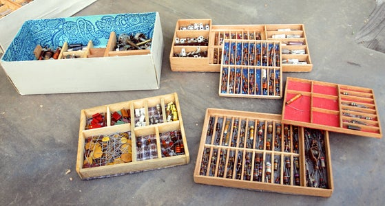 How to Organize a Shoe Box