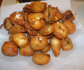 Deep Fried Party Snacks
