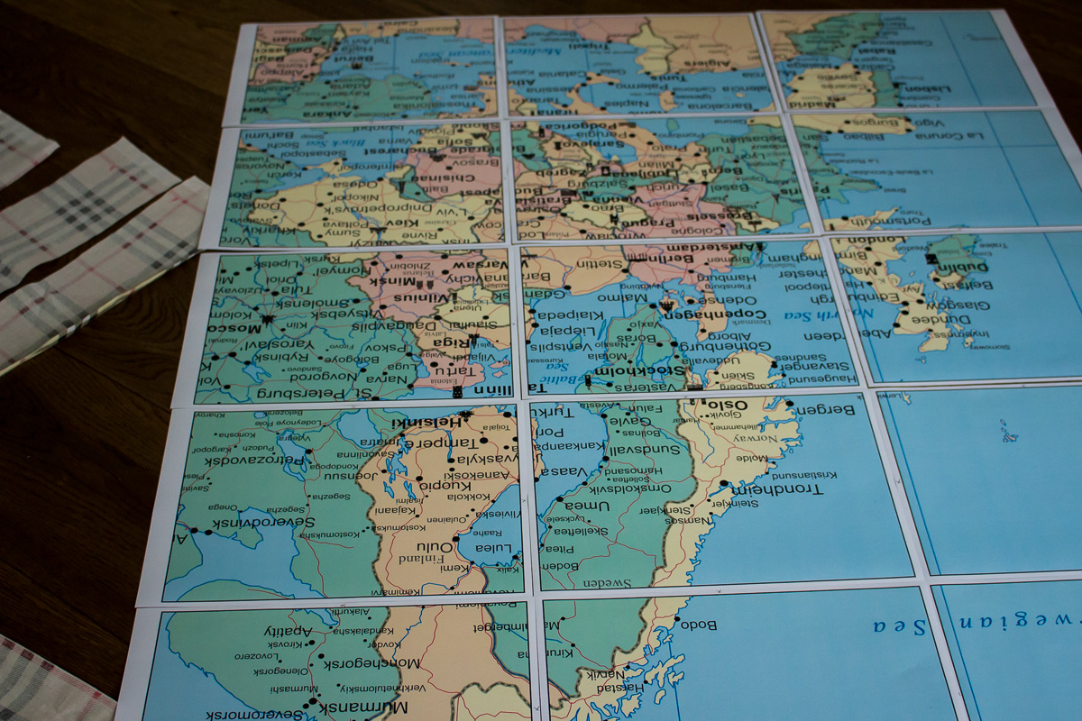 Picture of Practical Tips for Working With Already Cut/printed Maps
