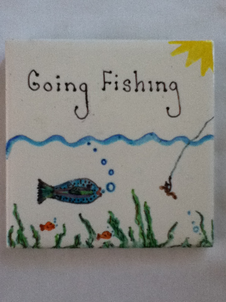 Picture of Ceramic Tile Art Project for Kids