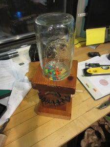 Geared Candy Dispenser