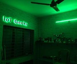 IoT Geeks - the Logo & Light
