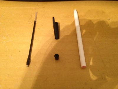 Hiding Places Made From a Pen and a Measuring Tape (two Different Places) Plus a Goodie