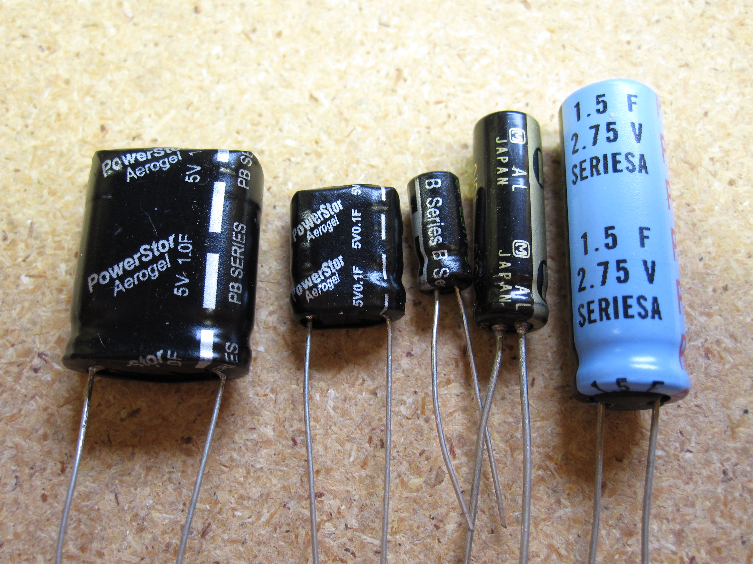 Picture of Capacitors, Motors, and Solar Cells