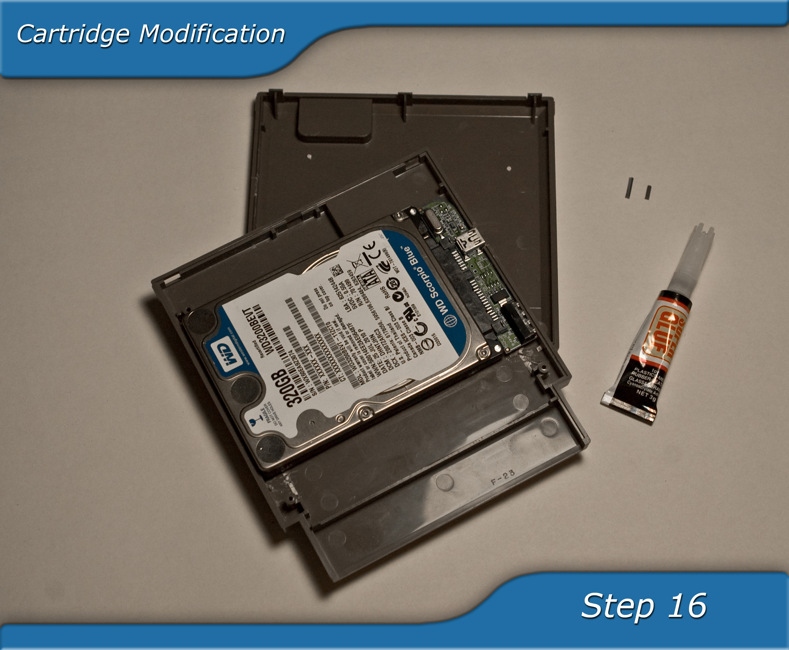 Picture of Cartridge Modification