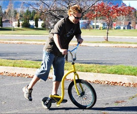 Build the SpinScooter