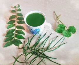 Herbal drink for a healthy life