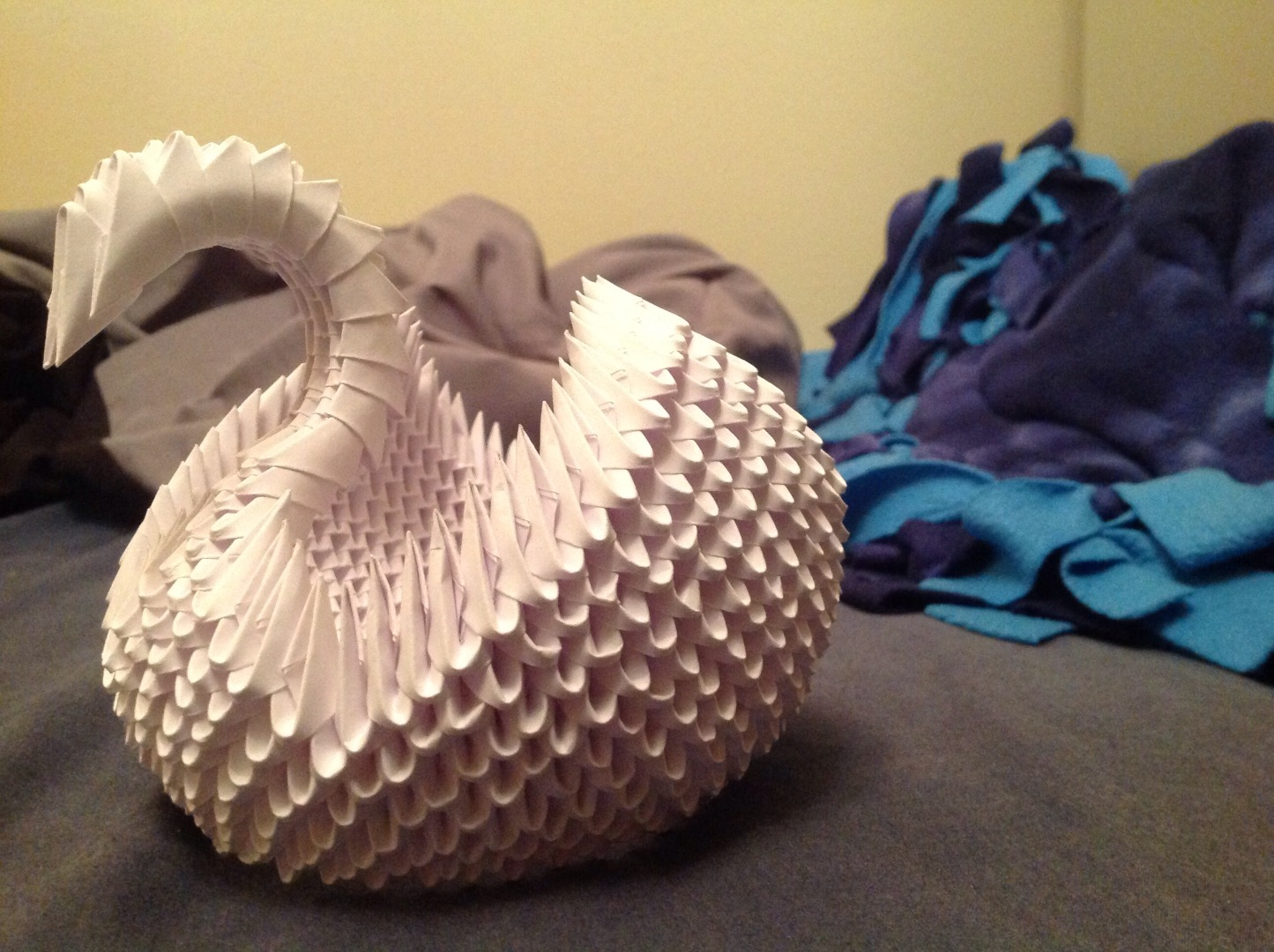 Picture of 3D Modular Origami Swan