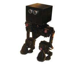 FOBO bipedal walking robot