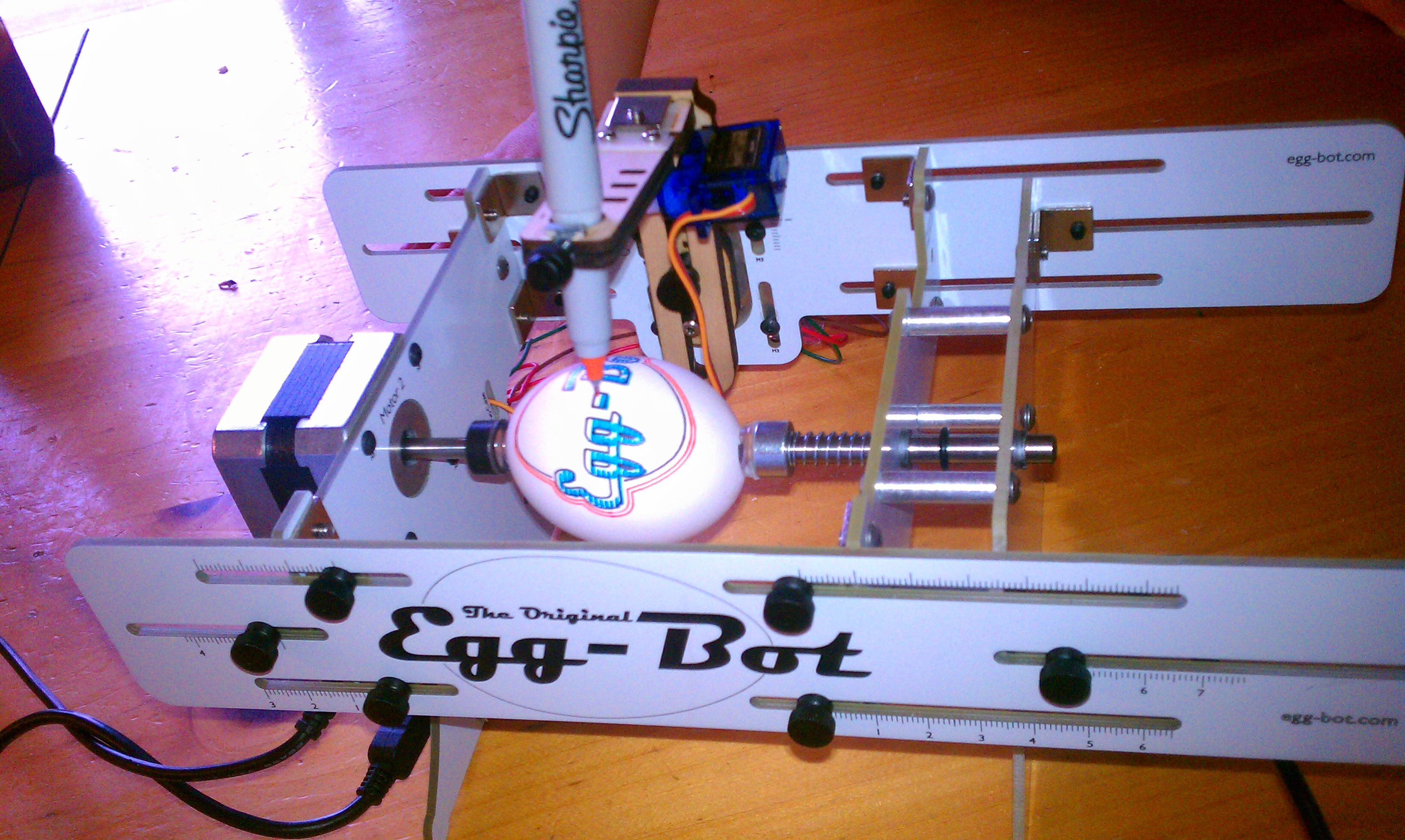 Picture of Egg-bot Creations and Tips