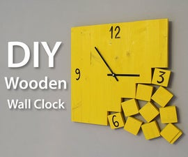 How to Make a Modern Wooden Clock