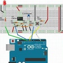 Capacitance meter with arduino and 741 op-amp
