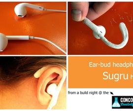 Sugru Hacked Headphones