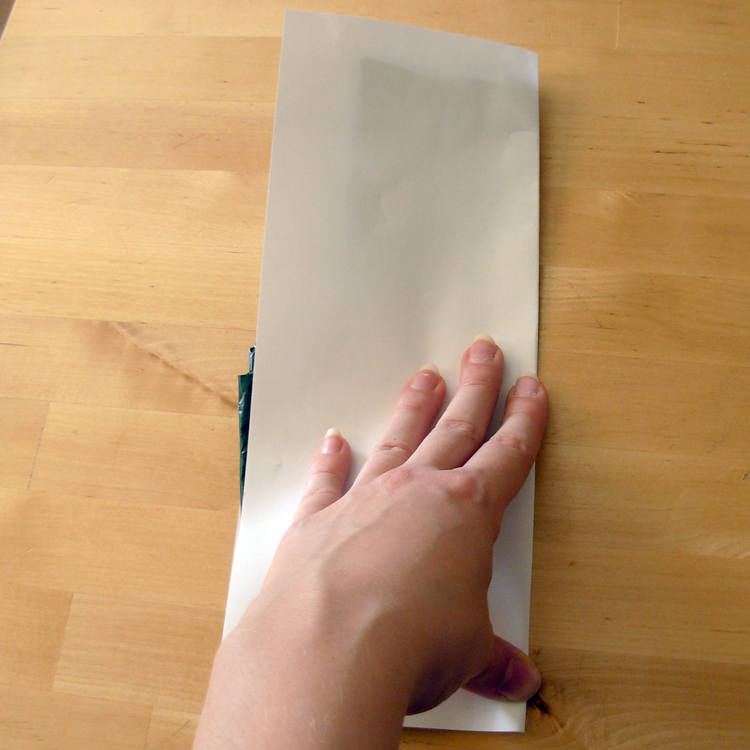 Picture of Prepare the Bag for Cutting