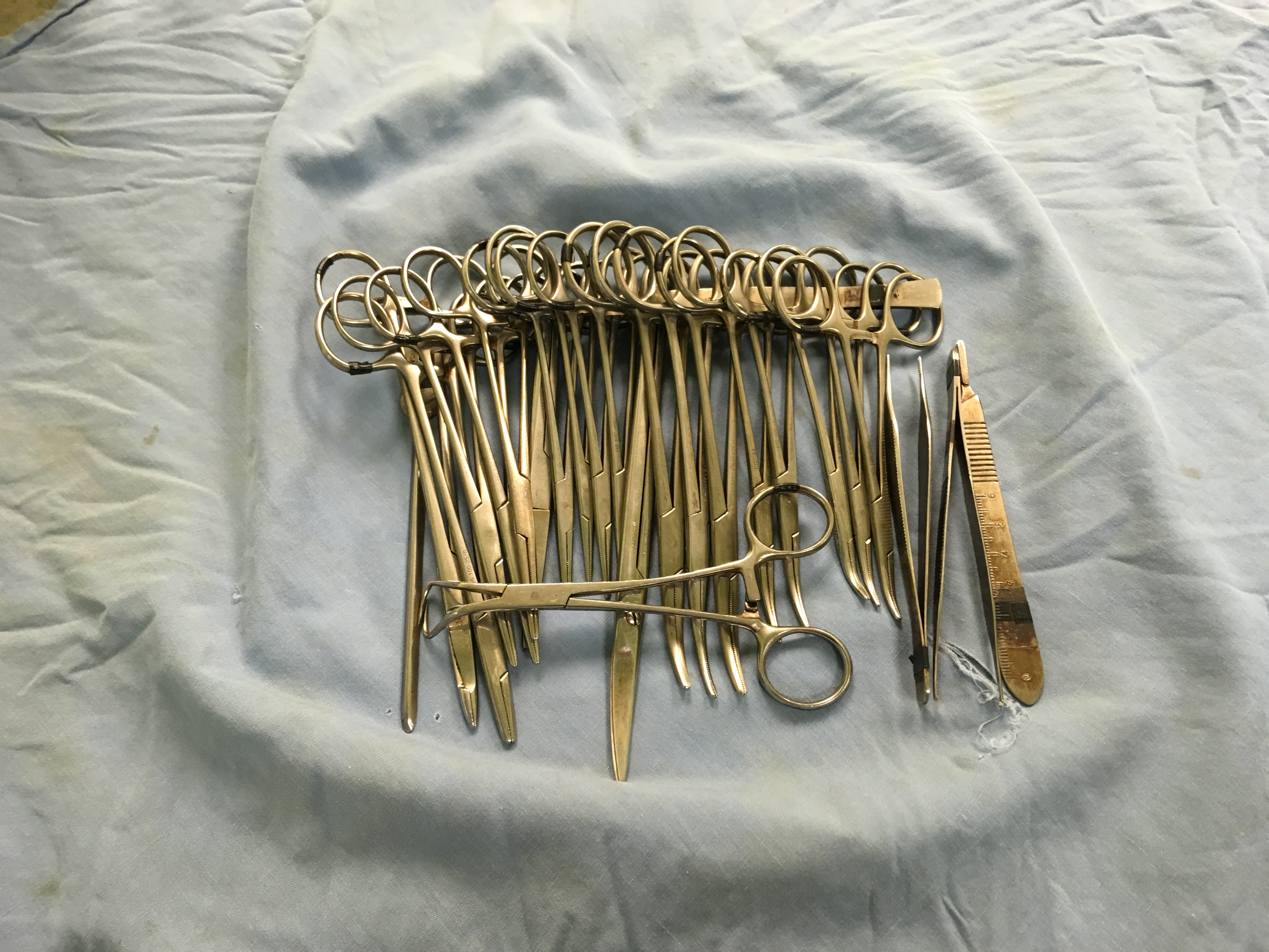 Picture of Prepare Instruments for Wrapping