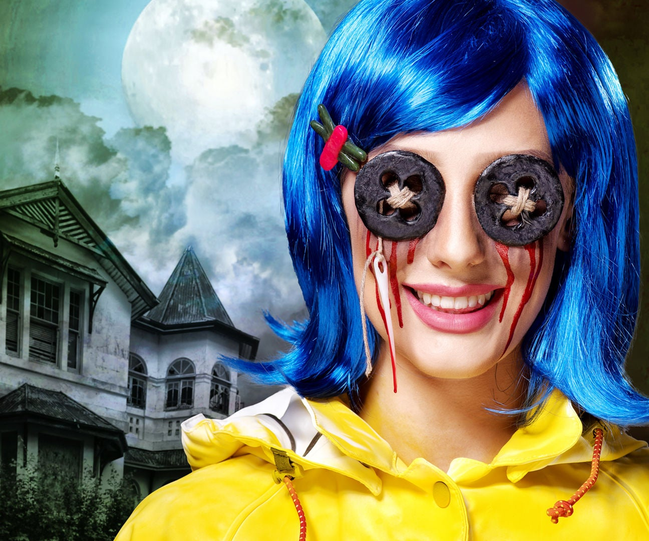 Coraline Halloween Costume Tutorial Video With Pictures Instructables
