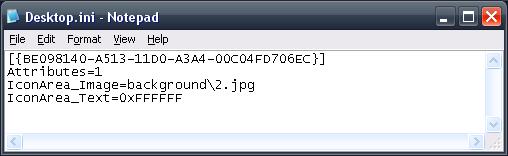 Picture of Coding the Desktop.ini