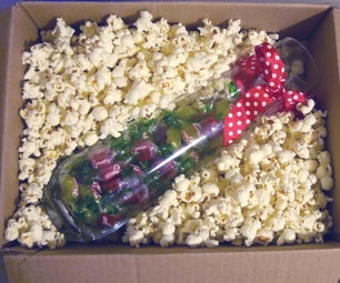 Popcorn As Packaging Material - Yummy and Decomposable
