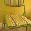 Recover Your Old Folding Chairs