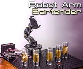 Arduino Robot Arm Bartender