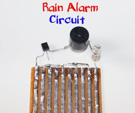 How to Make Rain Alarm Circuit Using BC547 Transistor