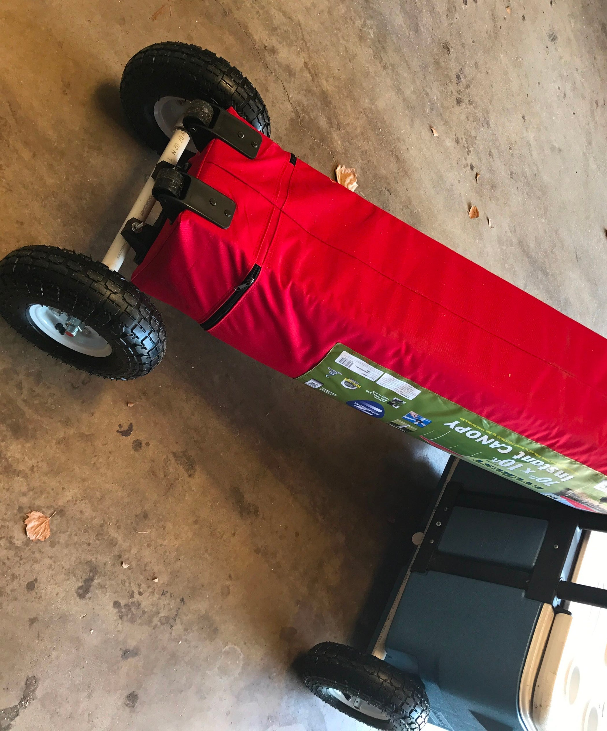 All Terrain Wheels For Pop Up Canopy 6 Steps With Pictures