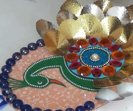 How to Make a Beautiful Peacock Wall Hanging?
